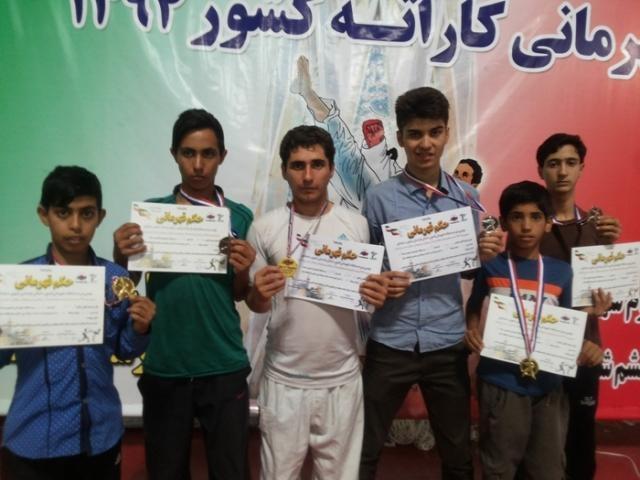 افتخار آفرینی کارته کاهای شهر آیسک در مسابقات قهرمانی کشور