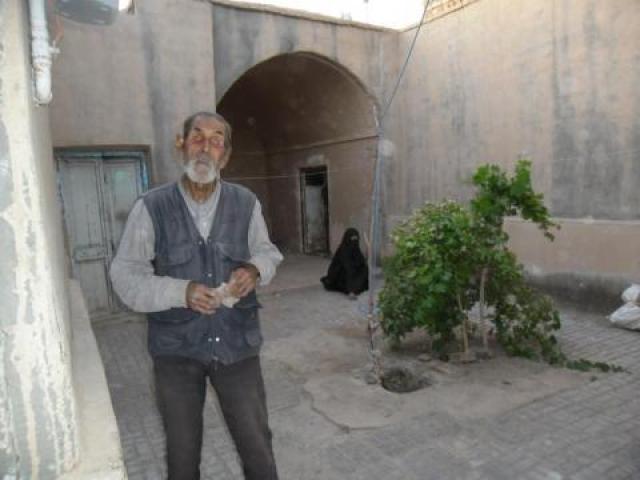 زندگی شیرین و پرکار پیرمرد نابینای آیسکی