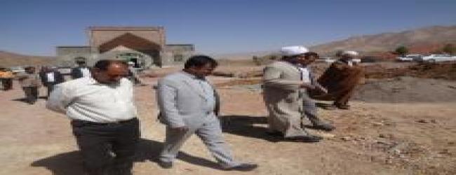 بازدید مدیرکل اوقاف استان از بقاع متبرکه سرایان