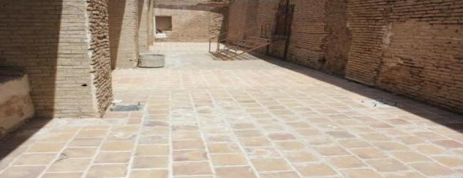 مرمت و بازسازی مسجد جامع سرایان بروایت تصویر